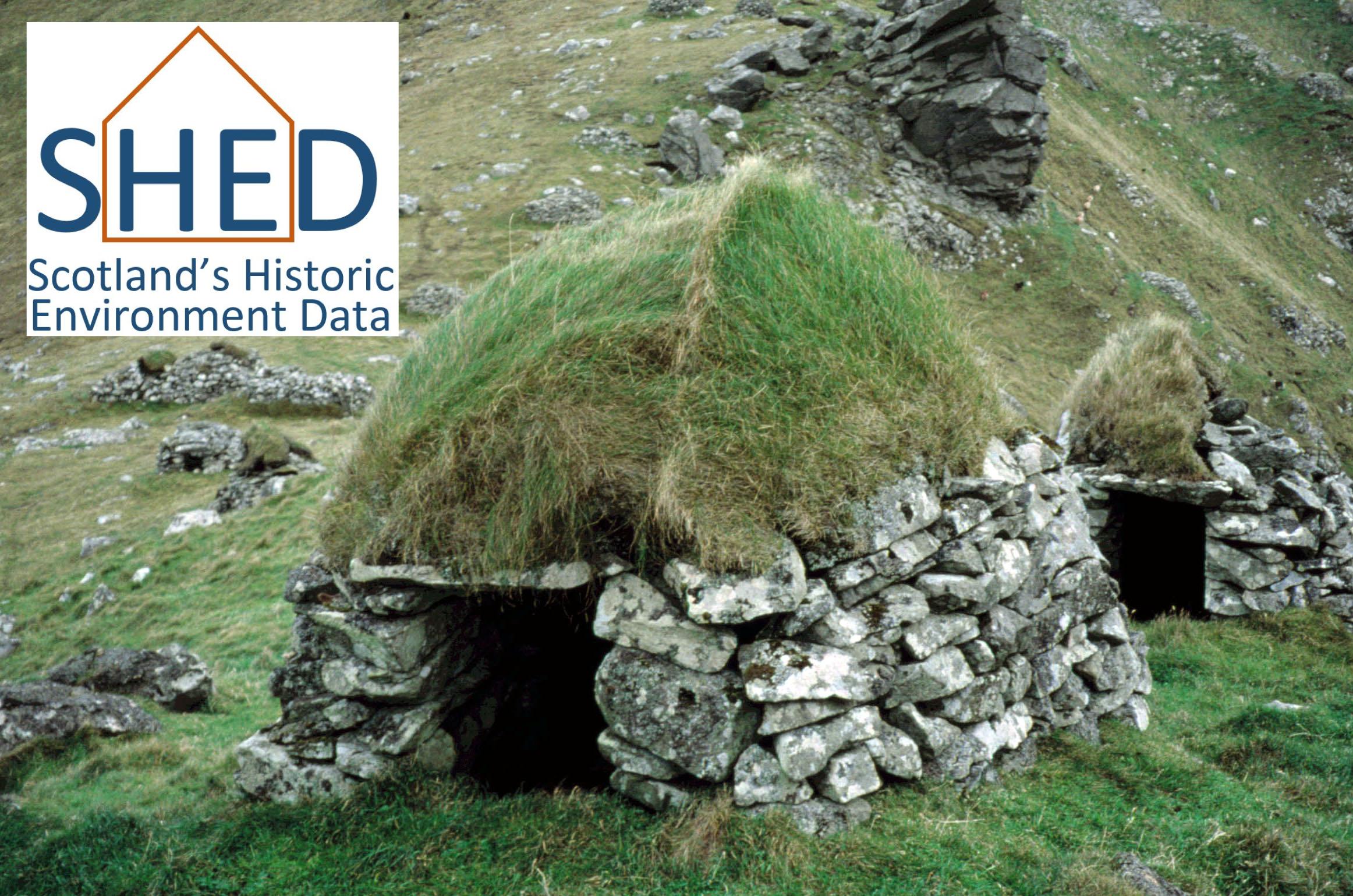 Cleits - St Kilda's sheds